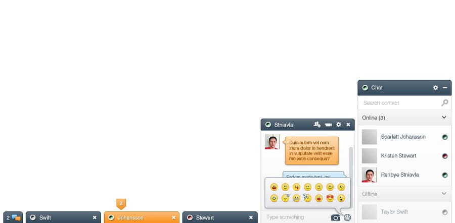 #21 for Design a Chat system like Facebook Chat by stniavla
