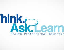 #32 para Logo Design for Think Ask Learn - Health Professional Education por kcmoh