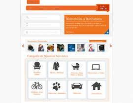 Nro 9 kilpailuun Boceto pagina web de anuncios clasificados käyttäjältä stcserviciosdiaz