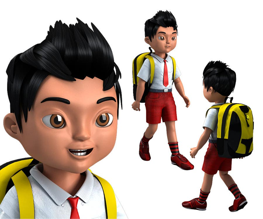 #4 for 3D Character Modelling by faizanarshad786
