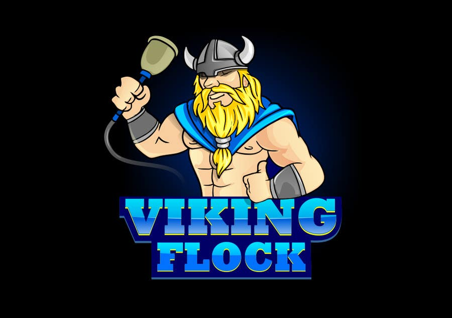 #22 for Design a logo for Vikingflock by jack10