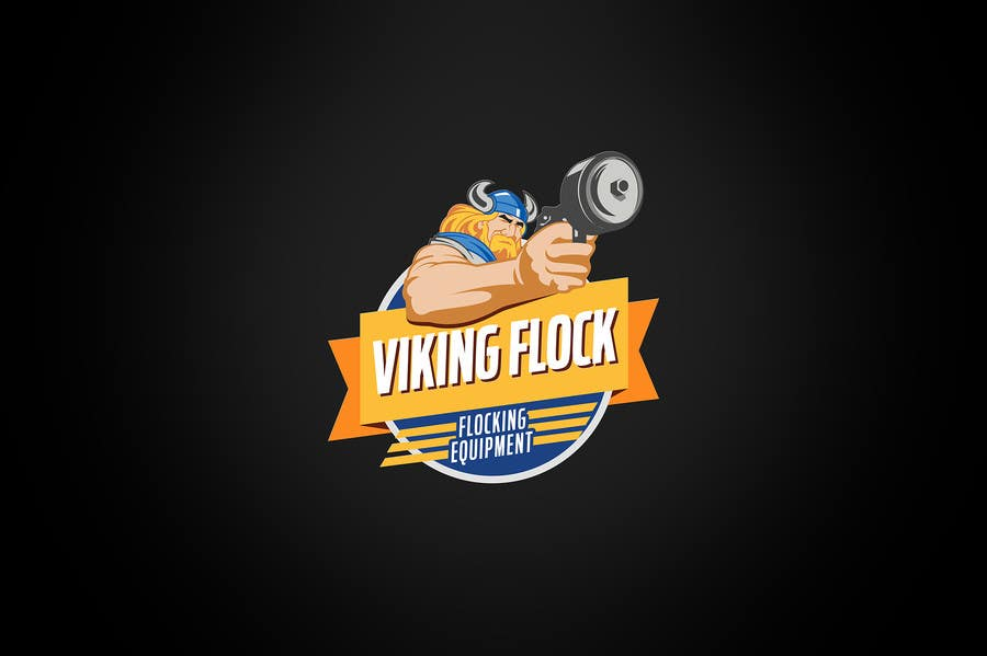 #16 for Design a logo for Vikingflock by kamikira