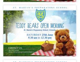 Nro 25 kilpailuun Teddy Bear  Flyer käyttäjältä ClaudiuTrusca