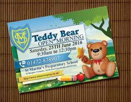 Nro 20 kilpailuun Teddy Bear  Flyer käyttäjältä monstreja