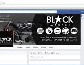 Biayi81 tarafından BlackStar.Market Facebook logo + cover için no 15