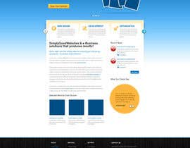nº 97 pour Website Design for Simply Good Websites Ltd. par gfxpartner