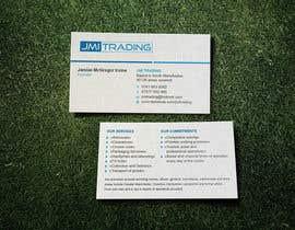 Nro 36 kilpailuun Double Sided Business Card käyttäjältä vadimsoloviev