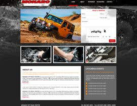 Nro 22 kilpailuun Home page and one sub page designed in PSD for Four Wheel Drive Mechanic Workshop käyttäjältä rabiyudin