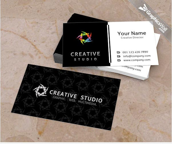 Entry 32 by rakish for design a business card for a video contest entry 32 for design a business card for a video production business reheart Images
