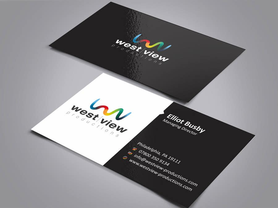 Entry 2 by ezesol for design a business card for a video for Video production business cards