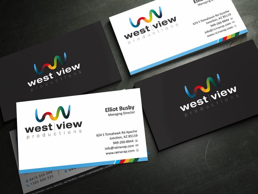 Entry 24 by ezesol for design a business card for a video contest entry 24 for design a business card for a video production business reheart Images