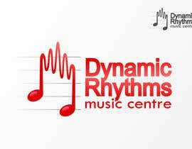 #121 for Logo Design for Dynamic Rhythms Music Centre by yreenhiba