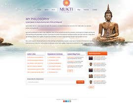 #3 for Design a Website Mockup for www.mukti.ca af tania06