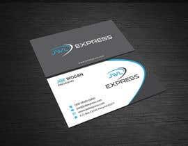 Nro 14 kilpailuun Business Card Design For JWL Express käyttäjältä mahmudkhan44