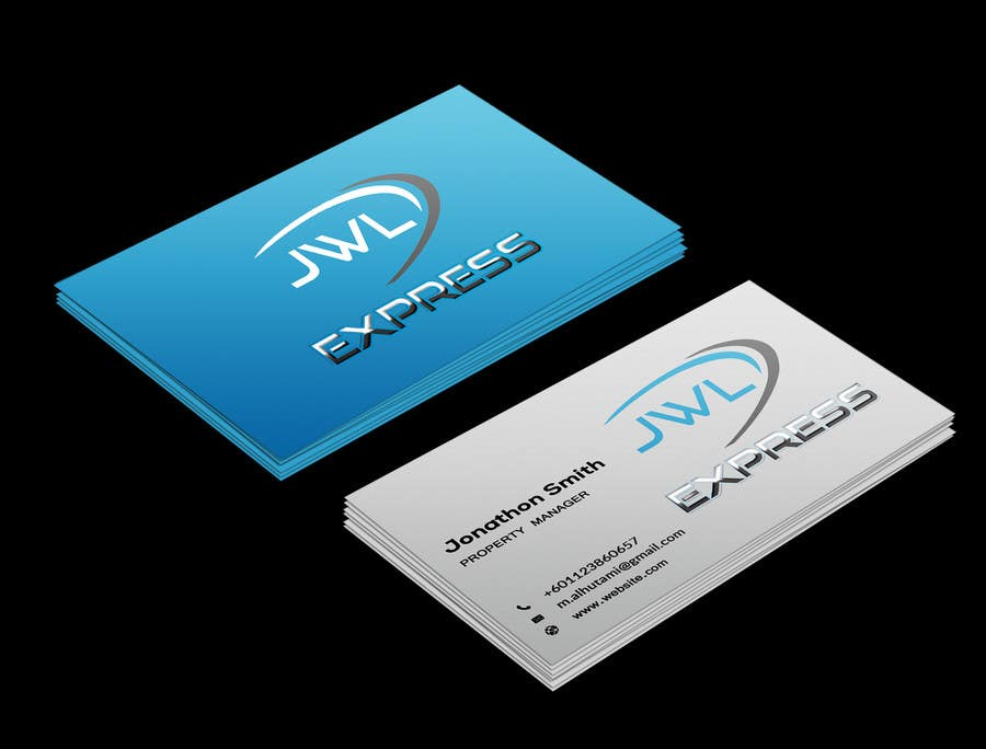 Entry 97 by creativepagol for business card design for jwl express business card design for jwl express reheart Image collections