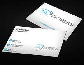 Nro 92 kilpailuun Business Card Design For JWL Express käyttäjältä GraphicsKingdom1