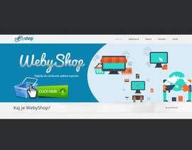 Nro 20 kilpailuun webshop banner käyttäjältä SJADDesigns