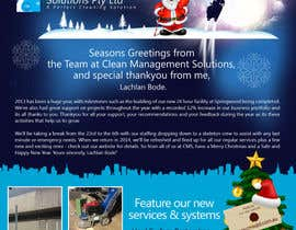 #36 para Design a Christmas (Santa etc) Flyer to promote our services por Pixaart