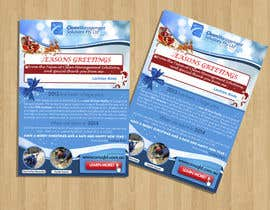#30 untuk Design a Christmas (Santa etc) Flyer to promote our services oleh RERTHUSI