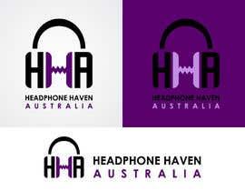 #78 para Design a Logo for Headphone Haven por vladimirsozolins