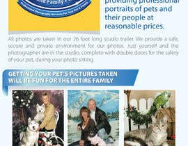 #52 for Design a Flyer for Pet and Family Photography Business by amcgabeykoon