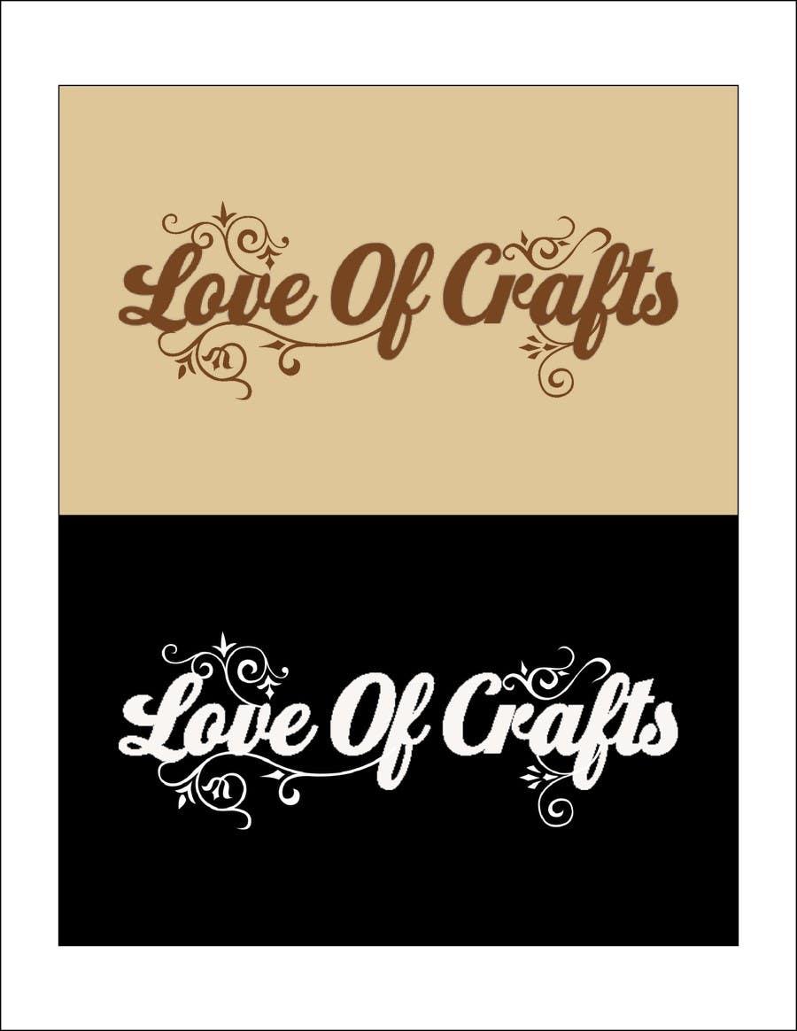 Penyertaan Peraduan #57 untuk Design a Logo for Love of Crafts