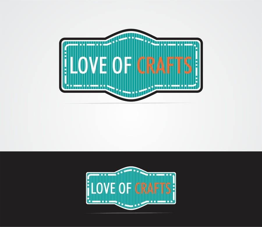 Penyertaan Peraduan #38 untuk Design a Logo for Love of Crafts