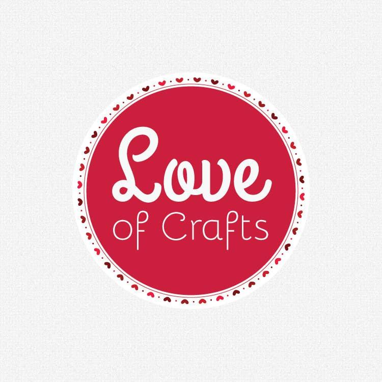 Penyertaan Peraduan #75 untuk Design a Logo for Love of Crafts