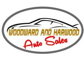 Nro 3 kilpailuun Design a Logo for Woodward Harwood Auto Sales käyttäjältä hectorvalerog69