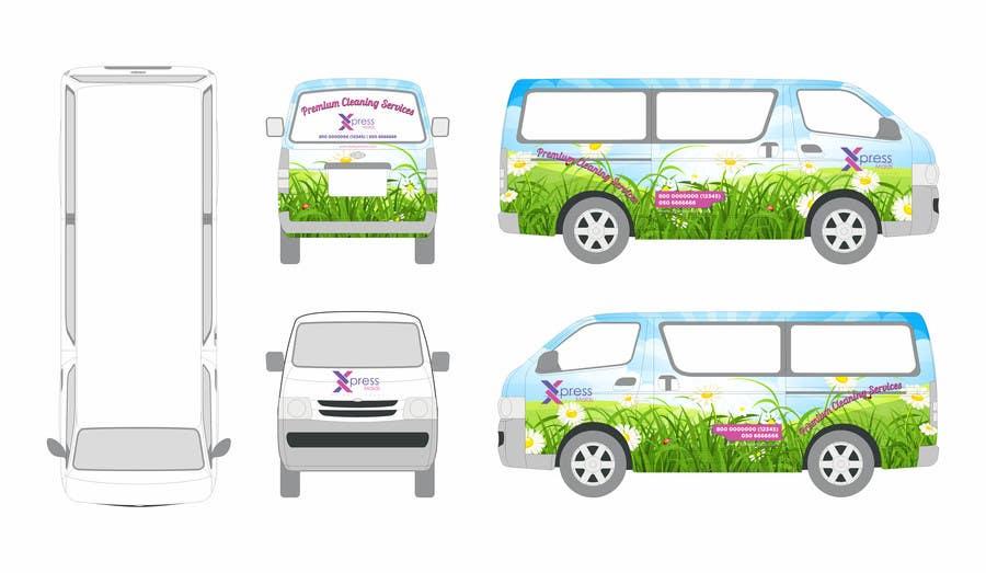 Kilpailutyö #33 kilpailussa I need Design for a Vehicle Wrap!