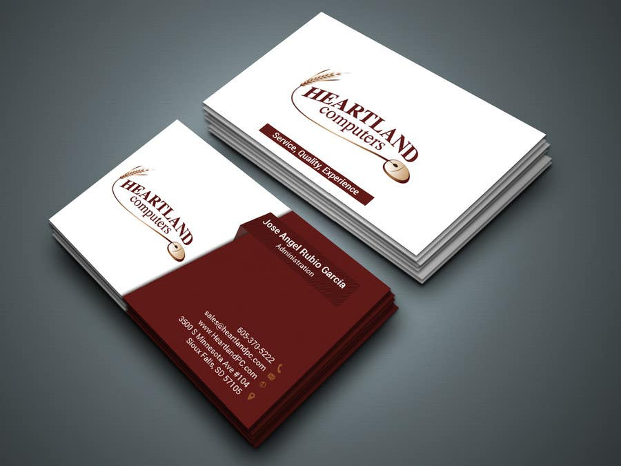 Entry 81 By Kamrunnaher20 For Business Card Design Needed