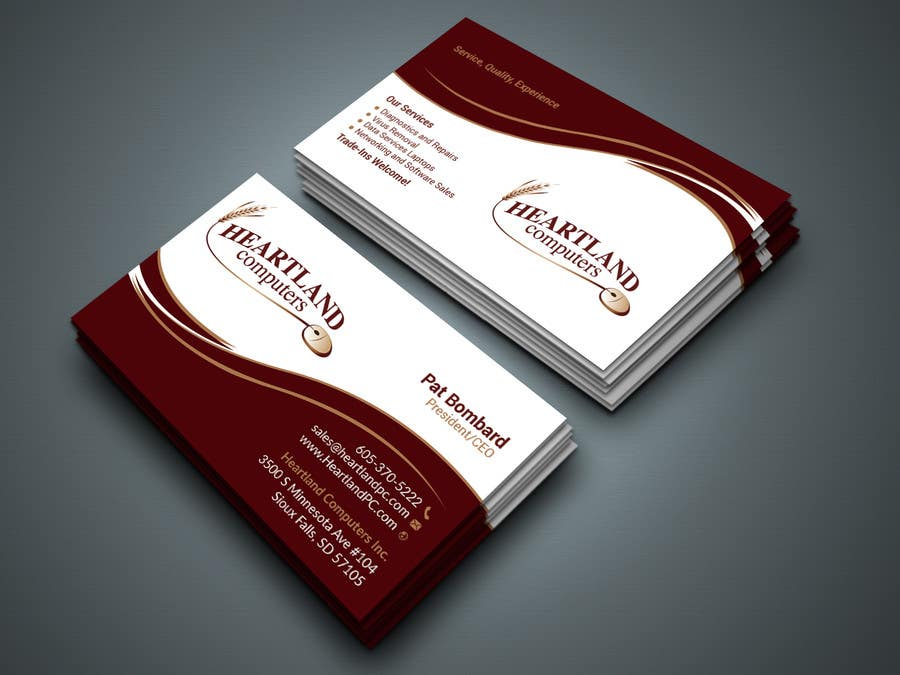 Entry #220 by Kamrunnaher20 for Business Card Design Needed For ...