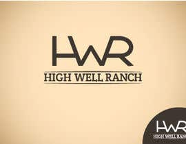 Stevieyuki tarafından Design a Logo for High Well Ranch için no 39