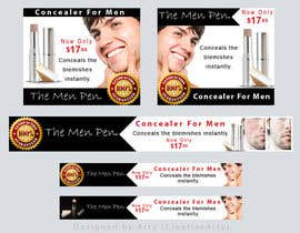 #49 pentru Banner Ad Design for The Men Pen de către CreativeArty