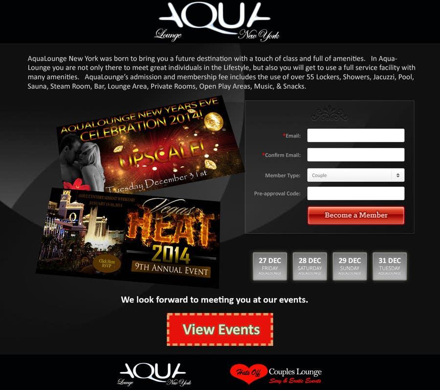 Inscrição nº                                         1                                      do Concurso para                                         Build an Attractive Landing Page for an Adult Website