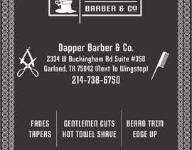 meenastudio tarafından Please design a flyer for my barbershop için no 45