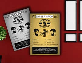 harjeet966 tarafından Please design a flyer for my barbershop için no 24