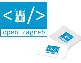 #14 for Design a Logo for Open Zagreb af JanuarEthnic