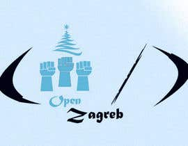 #27 for Design a Logo for Open Zagreb af digitarium85