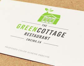 mohdkasimnazeer tarafından Design a Logo for our 'Green Cottage Restaurant' için no 811