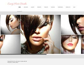 nº 16 pour Design a Website Mockup for Hair Extension business par sbhf