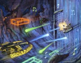 Nro 13 kilpailuun Design / Draw Artwork for Space Shooter game käyttäjältä marinasanc
