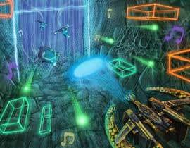 Nro 17 kilpailuun Design / Draw Artwork for Space Shooter game käyttäjältä marinasanc
