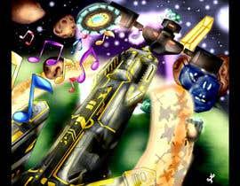 Nro 24 kilpailuun Design / Draw Artwork for Space Shooter game käyttäjältä myjobsljc
