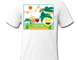 phthai tarafından Weekend Life Co Beach Party Tshirt design için no 7