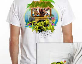 mihajlovic381 tarafından Weekend Life Co Beach Party Tshirt design için no 2