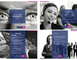 #29 for Design a Brochure for Wonderfull Web B.V. by cr8iveguru