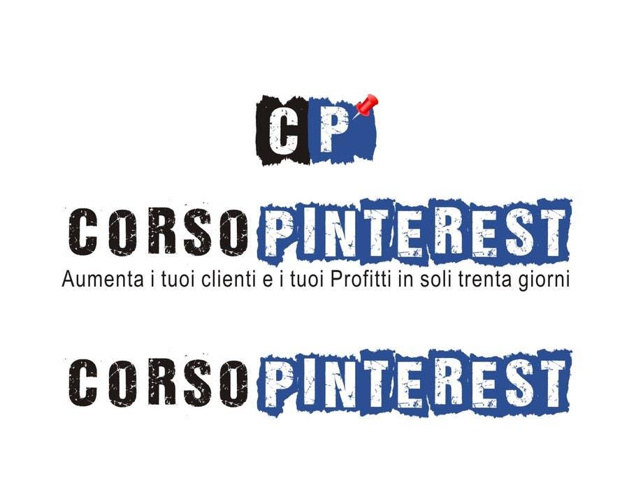 Inscrição nº 5 do Concurso para Disegnare un Logo per Corso Pinterest