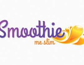 #45 for Design a Logo for Smoothie Me Slim - a new local delivery protein shake company af VrushaliSingh
