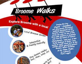 #18 for Design a Flyer for Broome Walks af authenticweb